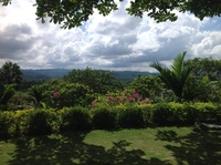 View from Good Hope plantation house, Jamaica