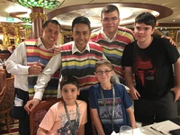 These are our Wonderful Waiters with my boys.