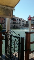 From our hotel in Venice, Grand Canale Hotel.