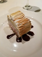 Royal Princess Oct 26, 2016 - Baked Alaska on final night - traditional din
