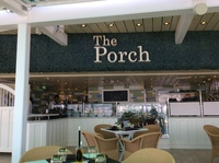 The Porch Specialty Restaurant Deck 15. Beautiful fresh seafood.