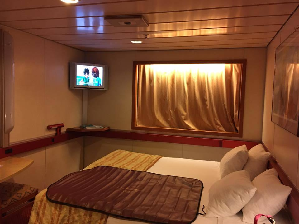 Ship on carnival fascination cruise ship cruise critic for Perfect cabin