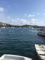 The harbour at Villefranche