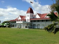 The King's Palace at Nuku'Alofa, Tonga.