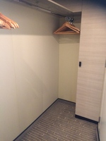 view of wardrobe space