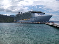 Oasis Of The Seas at Labadee