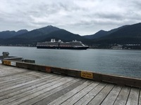 The ship in Juneau.
