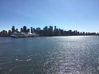 The Vancouver Cruise Terminal and the Star Princess.