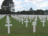 The American Cemetery near Omaha Beach