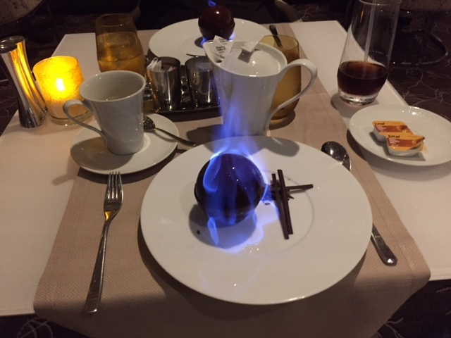 Desert at Luminae-Chocolate Sphere