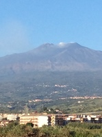 Fab view of mount etna on our way there very nice shore excursion