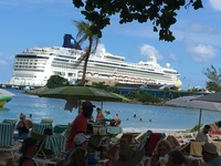 Our ship from Jimmy Buffet's in Ochio Rios