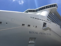 Royal Princess ship at port
