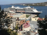 The Zuiderdam in Quebec City.