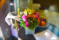 A great welcome in our stateroom