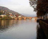 The old Bridge at Heidelberg