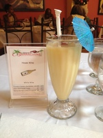Pina Colada At Barrachina's Old San Juan