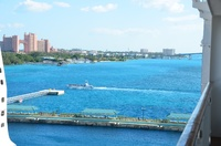 View from the balcony of Atlantis