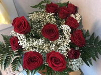 Dozen Roses ( part of package or can be pre-ordered)