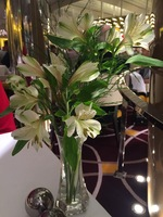 Flower--Everywhere- They spend $10K a week on Fresh flowers!!