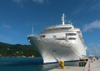 Ship Thomson Dream in Tortola British Virgin Isles