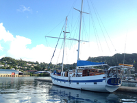 Diamant in the Port Louis Marina in Grenada.