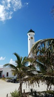 Lighthouse on our excursion in Cozumel