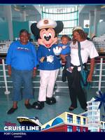 Meeting Captain Mickey in the terminal