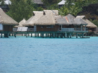 French Polynesian resort.