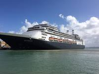 The Rotterdam at the Pier in Old San Juan, Puerto Rico