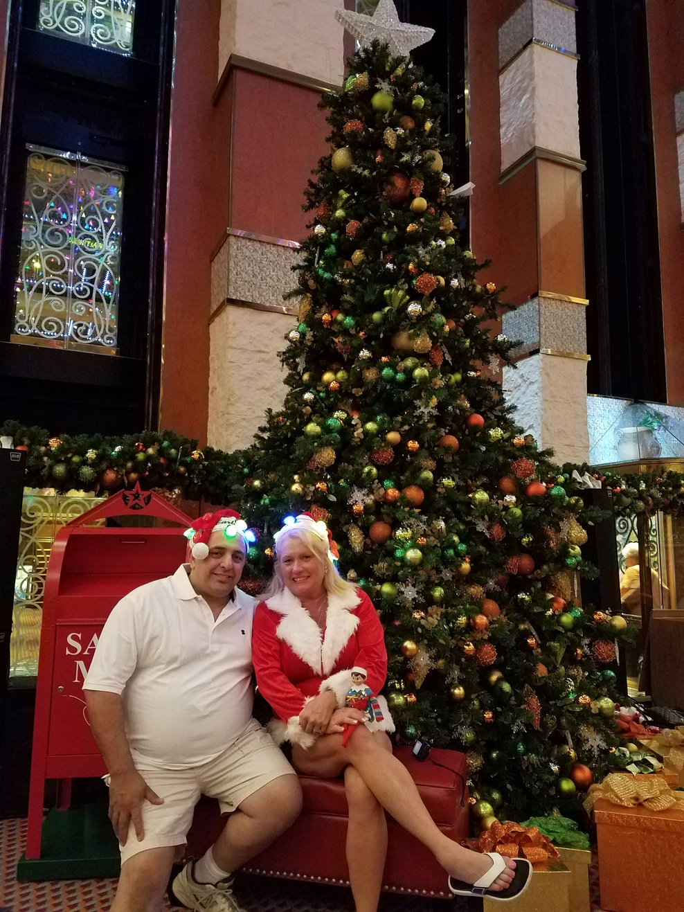 We highly recommend the carnival liberty. 4 days filled with fun and holiday spirit