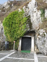 Entrance to 35 miles of Slavonian caves