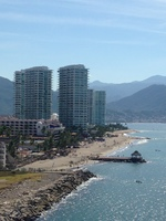 Great view of Puerto Vallarta from the ship