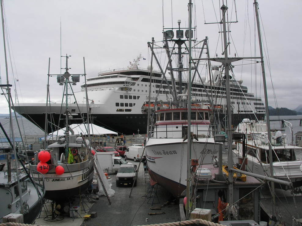 Port on holland america maasdam cruise ship cruise critic for Fishing company of alaska