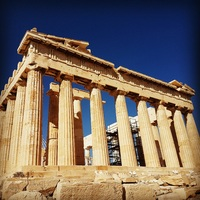 Akropolis, Athens. Just 10 minutes from the port with the bus. What an amazing place.