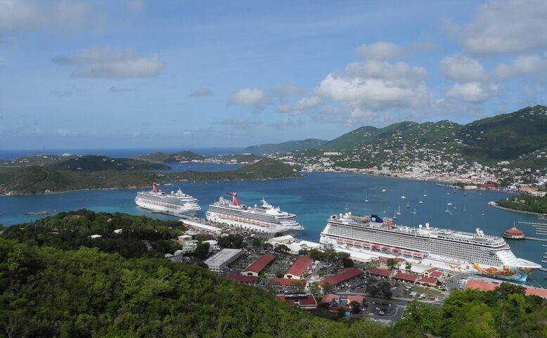 Docked in St. Thomas