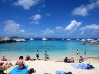 Virgin Gorda beach, magnificent
