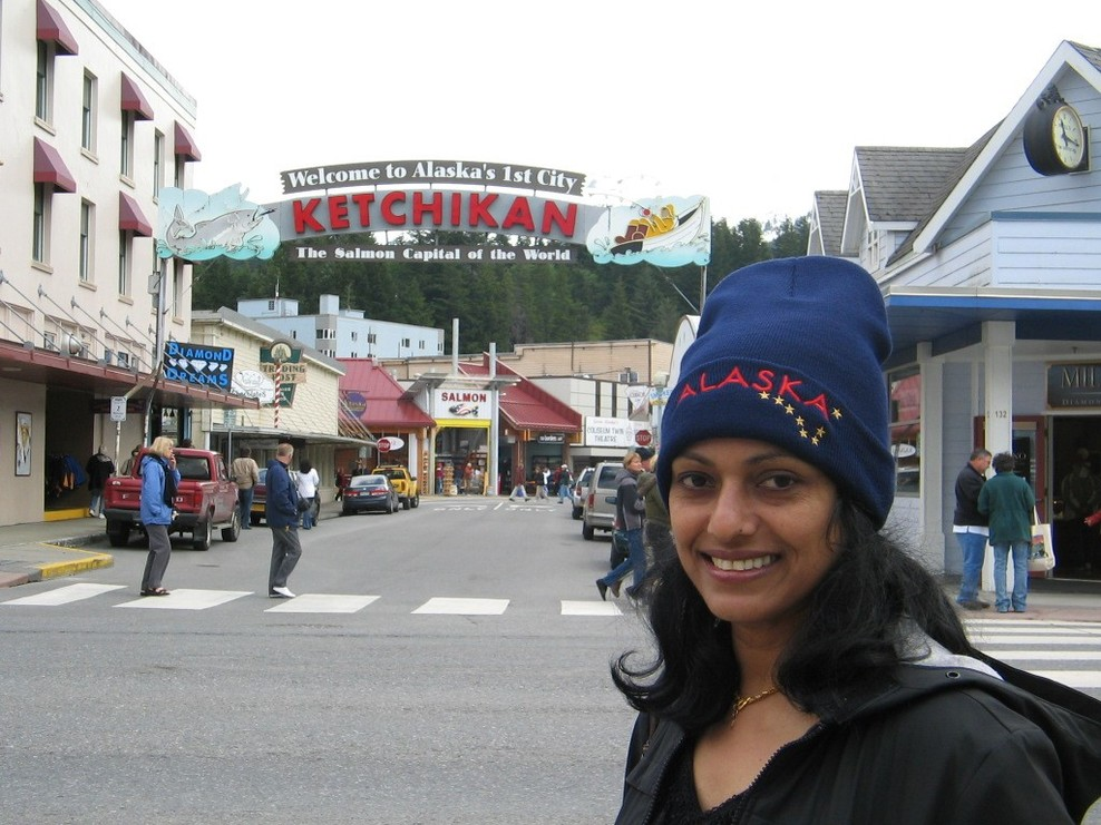 In Ketchikan,Alaska