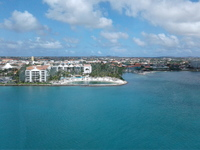 View from the Ship of Aruba