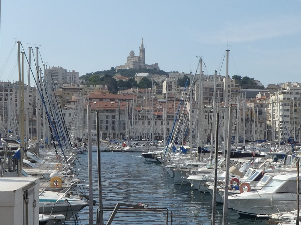 Yachts in Marseille