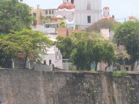 City wall and buildings San Juan, Puerto Rico - Old City