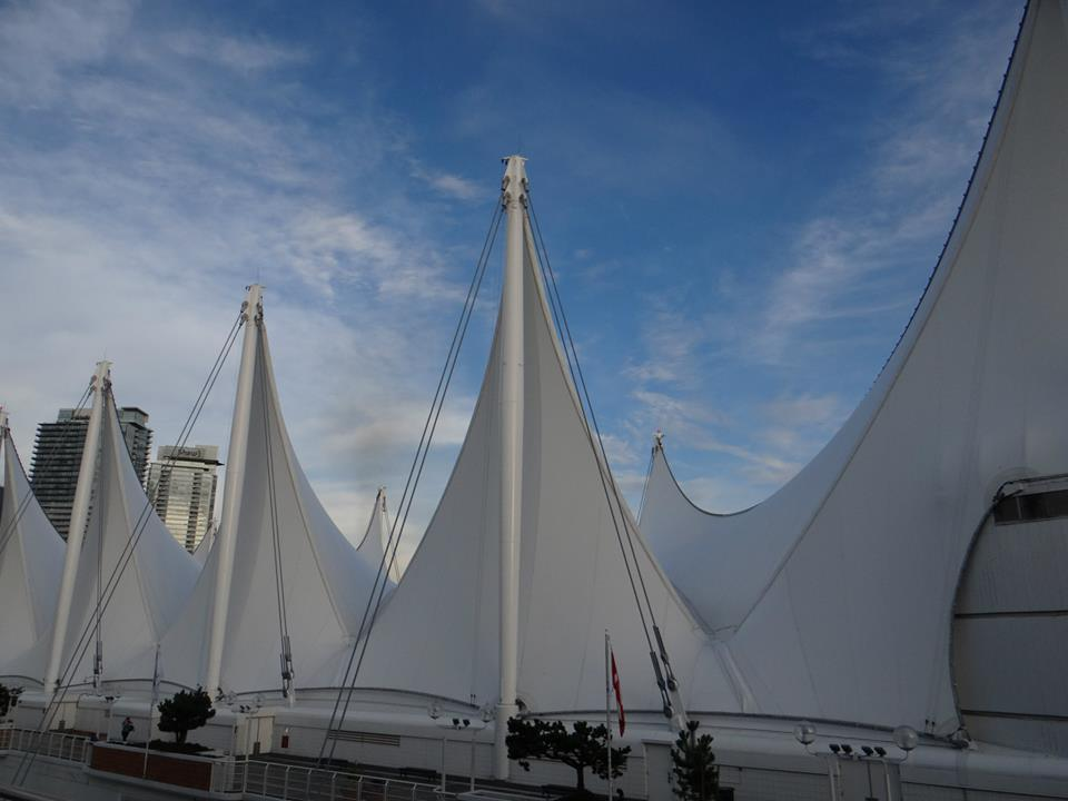 Canada Place dock Vancouver