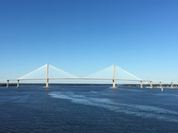 Leaving the port of Charleston
