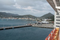 Balcony on deck 11 in St. Maarten