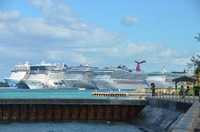 All ship in Nassau harbor
