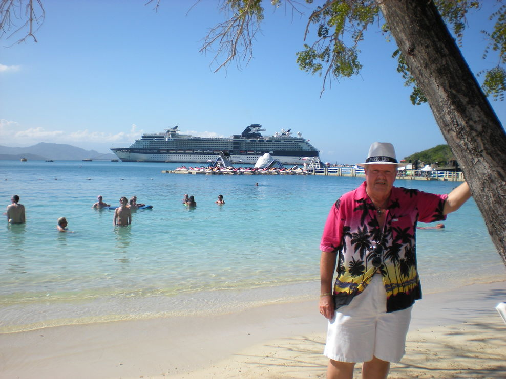 Celebrity Constellation in Labadee, Haiti, Hispaniola