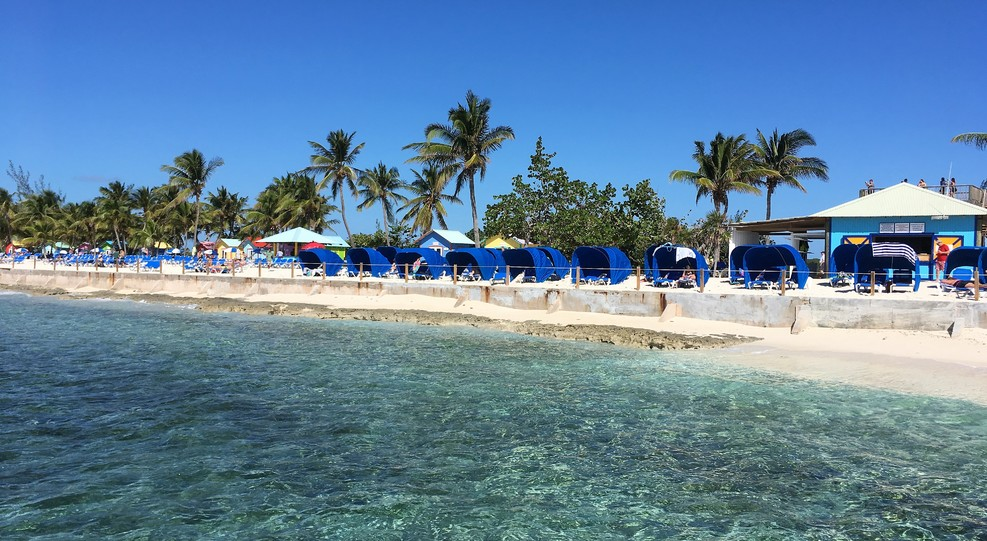 Beach at Princess Cays