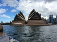 Sydney Opera House from the water