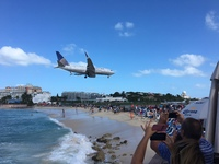 St. Maarten, Maho Beach - pretty cool stop on the way to Grand Case.