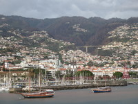 Funchal, Madeira, in the afternoon.